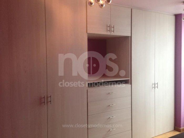 closets modernos de madera economicos mexico df cdmx