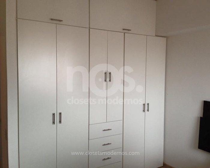 closet estilo moderno blanco