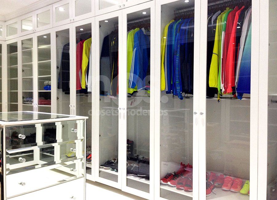 closets modernos vestidores de madera minimalistas economicos diseño a la medida fabricacion cdmx df mexico