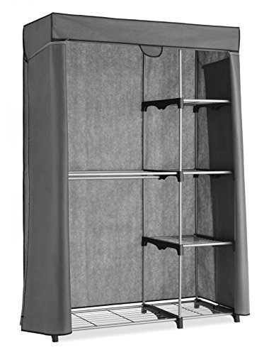 Whitmor Deluxe Utility Closet With Gray Cover
