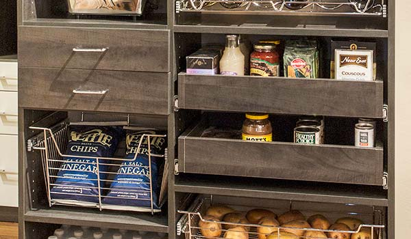 Pantry Organizers Storage Drawers Versus Pull Outs