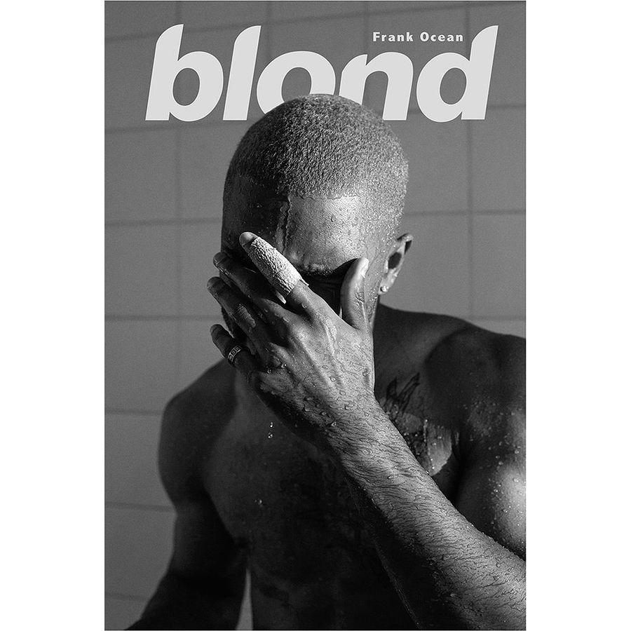 frank ocean poster blond