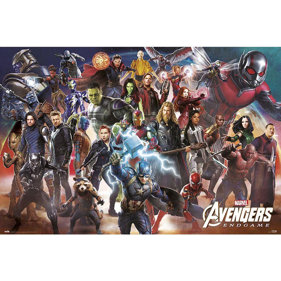 avengers endgame poster line up