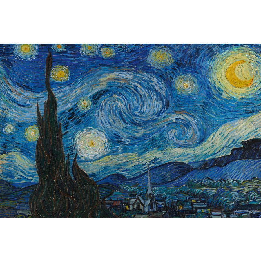 starry night poster vincent van gogh