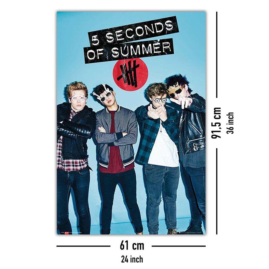 5 seconds of summer poster brillen