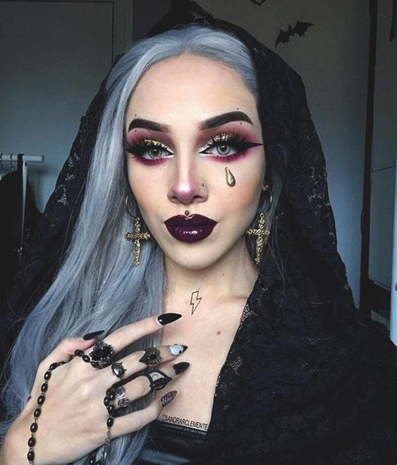 58 Y And Halloween Makeup