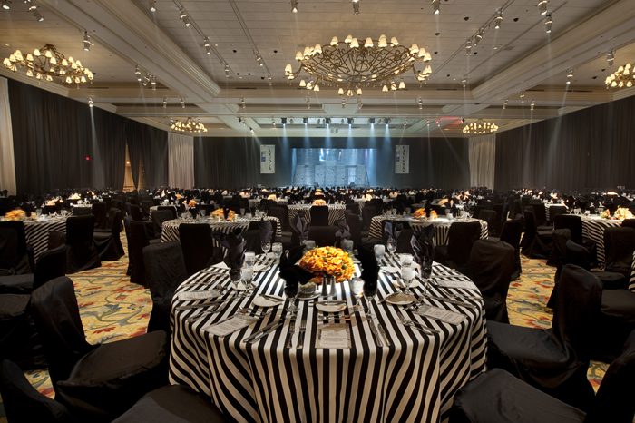 Black Amp White Stripe Table Linen Rental Tablecloth