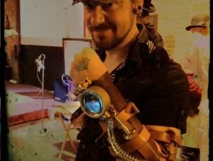 Unfinished Vambrace of Doom™ Prototype Steampunk Arm Device