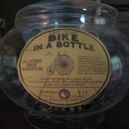 Bike in a Bottle Apothecary Jar