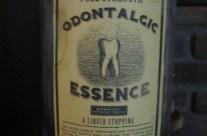 Odontalgic Essence Apothecary Jar