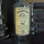 Ozonized Oil Apothecary Jar