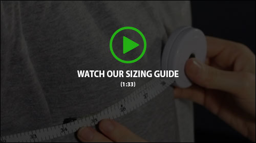 Watch our sizing guide