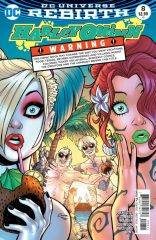 Harley Quinn #8 2016 comic book review
