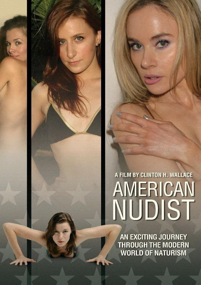 "Poster for the movie ""American Nudist"""