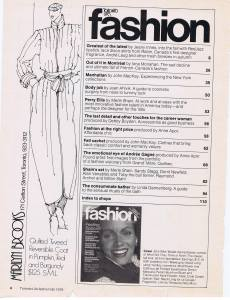 MARIILYN BROOKS FASHION FALL 1979