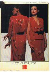 LEO CHEVALIER FASHION SPRING 1980