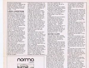 WAYNE CLARK STYLE 1980
