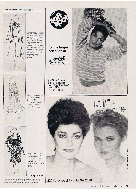 Hugh Garber Tania Blouse In Mustard Beatrice Clothing Fashion Summer 1981