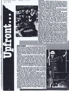 HUGH GARBER 1983 INFO NA