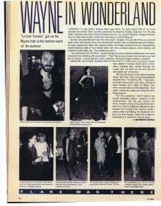 WAYNE CLARK FLARE 1984