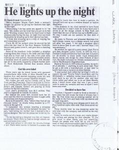 WAYNE CLARK MAY 1984