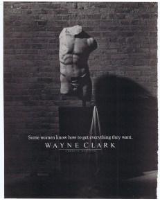 WAYNE CLARK FLARE MAR 1985