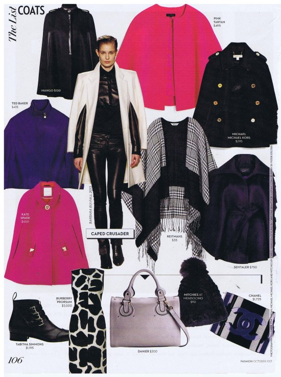 PINK TARTAN FASHION OCTOBER 2013