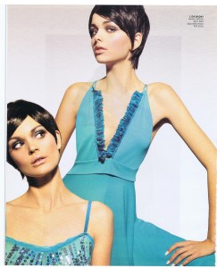 LIDA BADAY FASHION FEB 2006