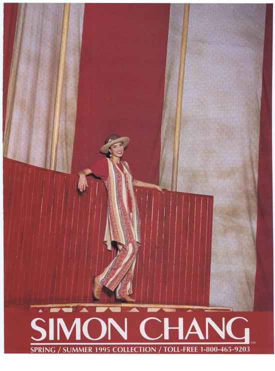 SIMON CHANG SPRING SUMMER 1995