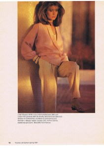 CLOTHESLINES FASHION SPRING 1981