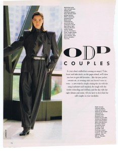 CLOTHESLINES FLARE JAN 1989