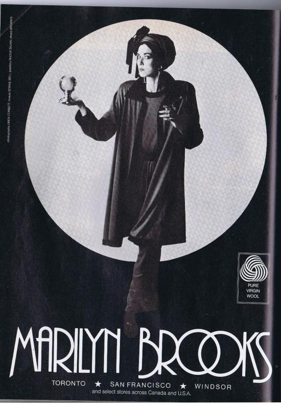 MARILYN BROOKS FLARE SEPTEMBER 1988