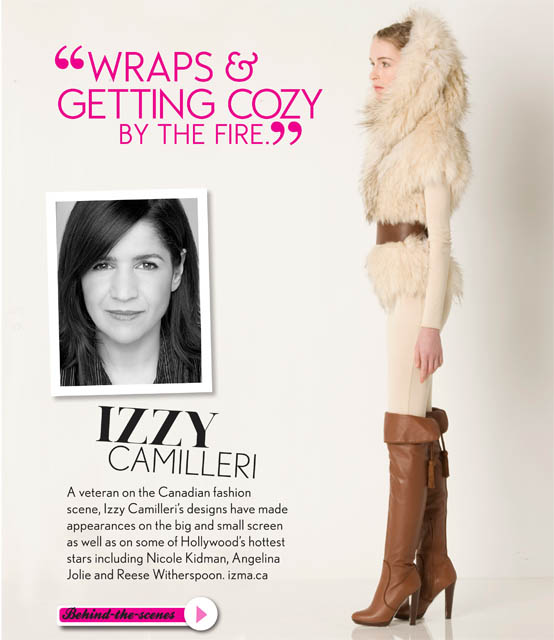 IZZY CAMILLERI REAL STYLE WINTER 2010