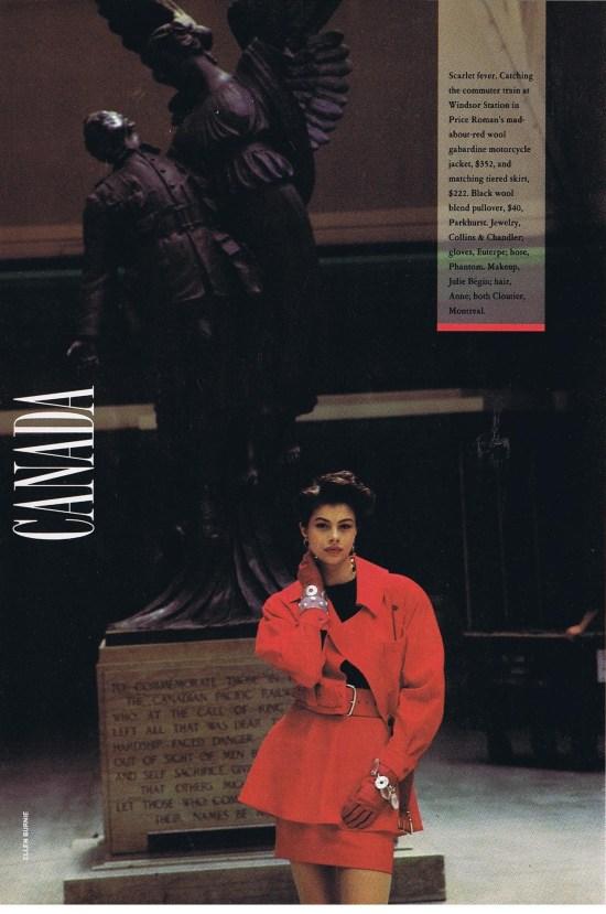 WAYNE CLARK FLARE SEPTEMBER 1988