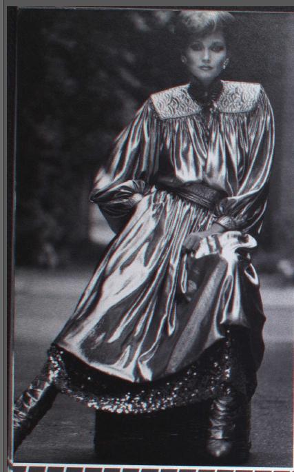 WAYNE CLARK CANADA FASHION MODE 1980