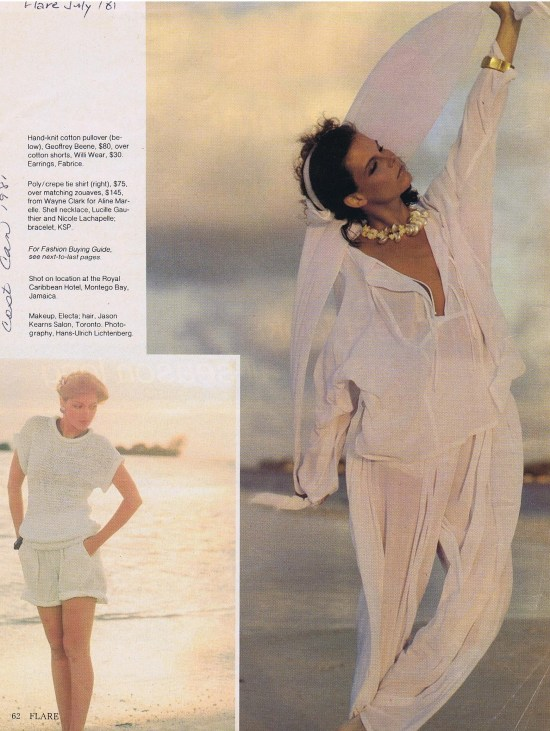 WAYNE CLARK FLARE JULY 1981