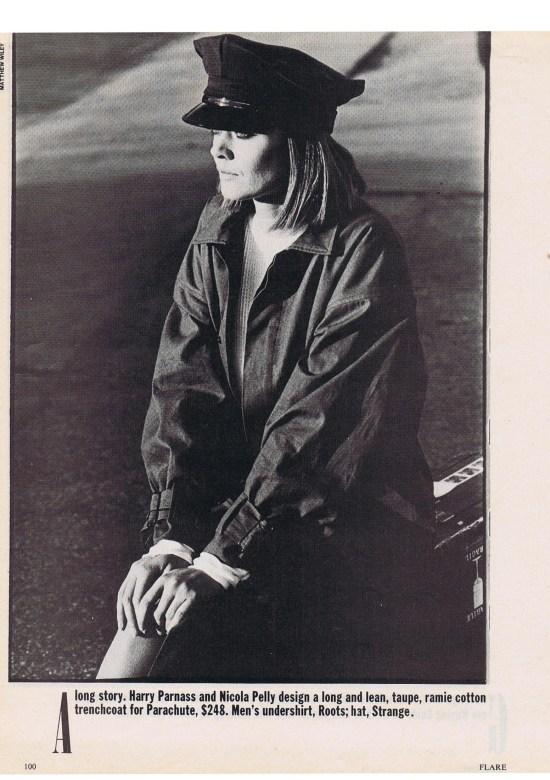 PARACHUTE FLARE APRIL 1984