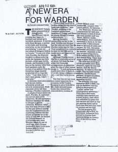 JOHN WARDEN GLOBE AND MAIL 04 01 1984