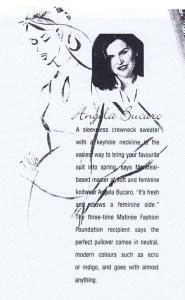 ANGELA BUCARO MATINEE SPRING 1997