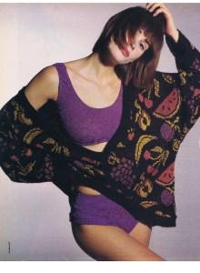 EMILY ZARB FLARE APRIL 1986