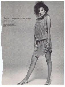 LOUCAS KLEANTHOUS FASHION SUMMER 1981