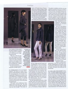 JEREMY LAING FASHION OCT 2006