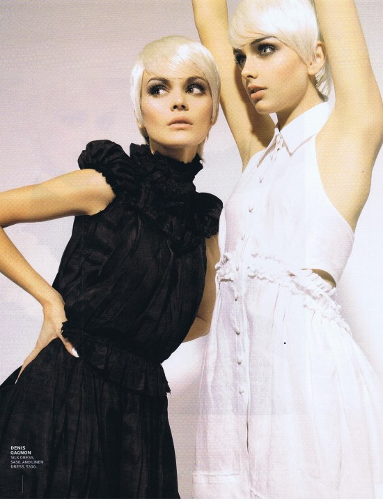DENIS GAGNON FASHION FEBRUARY 2006