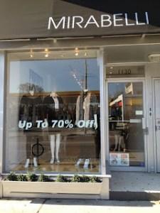 FRANCO MIRABELLI  1130 Yonge Street  (at Macpherson Avenue)