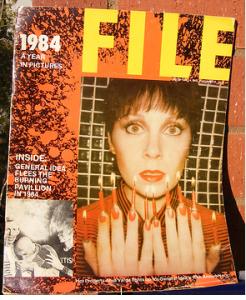 ANYA VARDA FILE MAGAZINE CA 1979