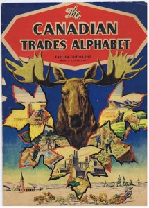THE CANADIAN TRADES ALPHABET ENGLISH EDITION  1952