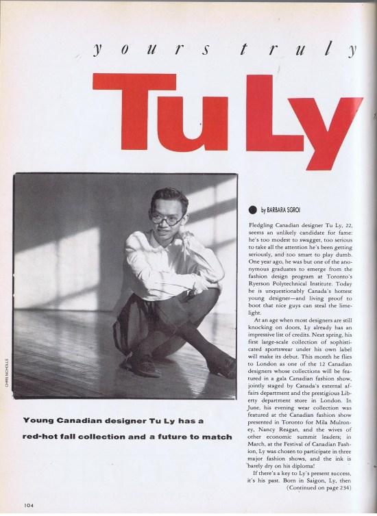 TU LY FLARE SEPTEMBER 1988