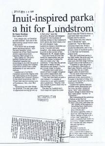 LINDA LUNDSTROM TORONTO STAR 18.12.1986