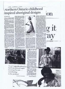 LINDA LUNDSTROM TORONTO STAR 22. 01. 1998