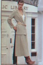 LINDA LUNDSTROM CANADA  FASHION MODE 1979